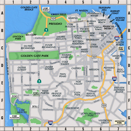 Resources By Location Sf Neighborhoods Bay Area